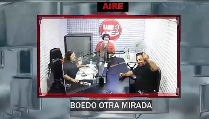 El delegado de las Murgas Porteñas, Christian Evangelista invitado en BOEDO OTRA MIRADA