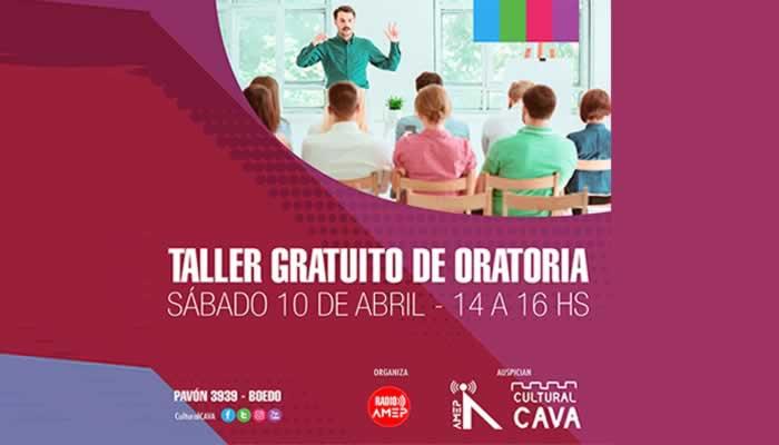 Taller Gratuito de Oratoria organizado por Radio Amep, AMEP Argentina y Cultural CAVA