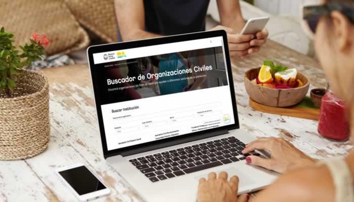 Se lanzó un buscador digital público de Organizaciones de la Sociedad Civil