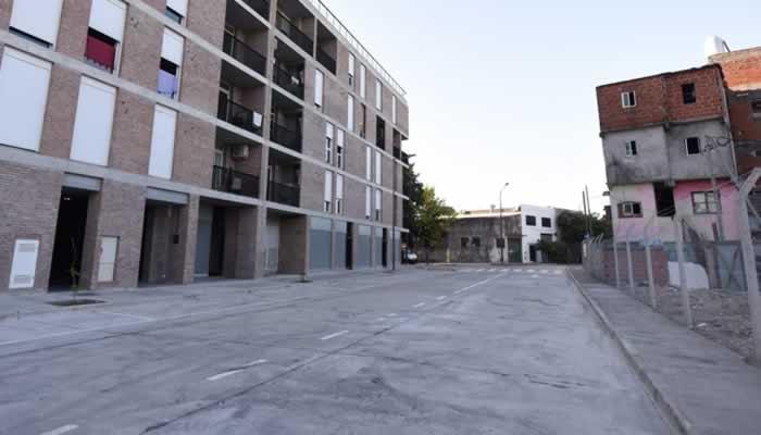 Se abrió una nueva calle en el Playón Chacarita