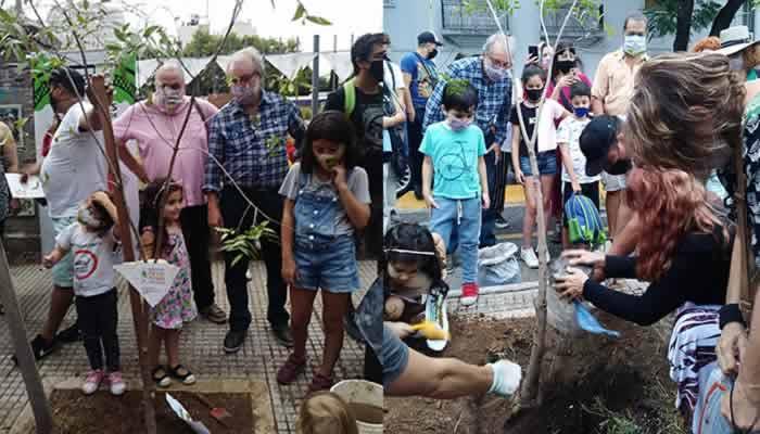 Campaña de los organismos de Derechos Humanos de Plantar un Árbol