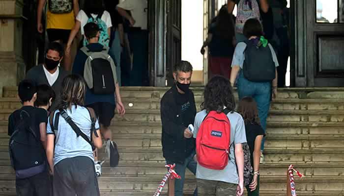 El paro docente en el Nacional Buenos Aires no tuvo alto acatamiento