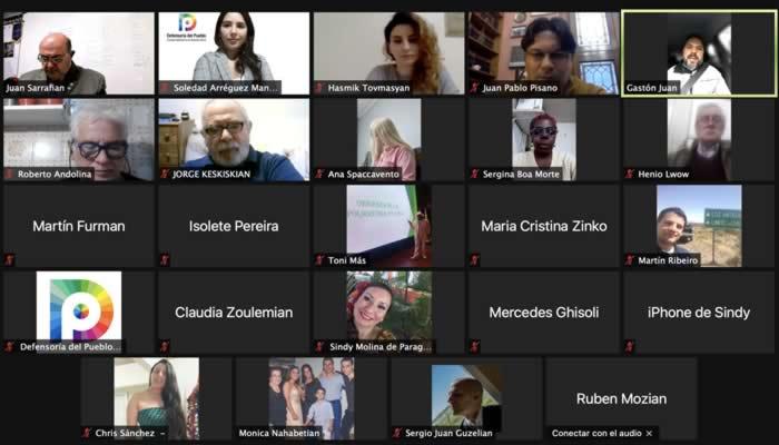 Nuevo encuentro del Ciclo «Instituciones, Colectividades y Redes Territoriales de la Defensoría del Pueblo de la CABA»