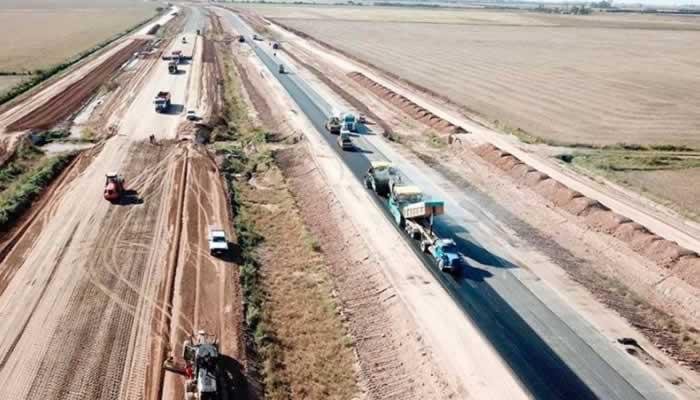 Inauguración y reactivación de obras en la Ruta Nacional 19