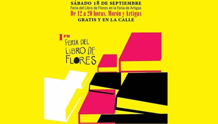 Este sábado se viene la «Feria del libro de Flores»