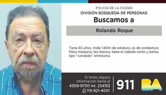 Búsqueda de Persona: Rolando Roque