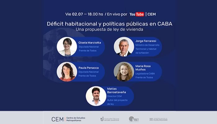 Conversatorio metropolitano, Déficit habitacional y políticas públicas en CABA