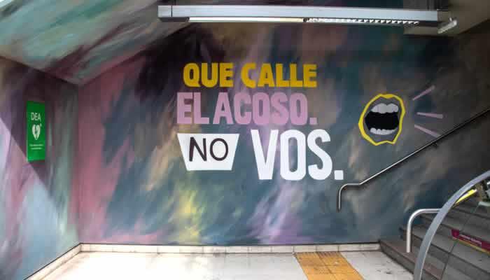 En La Ciudad se lanza una campaña contra el acoso callejero